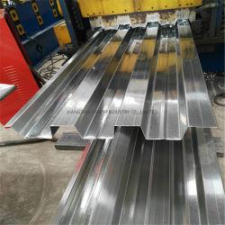 Losa de hormigón de hoja de revestimientos revestimientos para suelos de hojas de metal