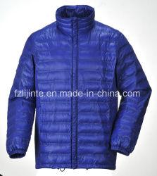 Les hommes ; S Fashion hiver Fake vers le bas Puffer lumière extérieure veste matelassée
