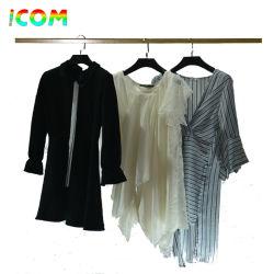 Vestiti originari dell'usato della signora Silk Blouse delle Primo-Fila-Città in balle