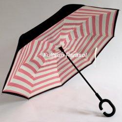 비 리버스 우산을%s 싼 Stright 차 우산