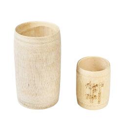De de aangepaste Houders van de Pen van het Bamboe en Koppen van het Potlood