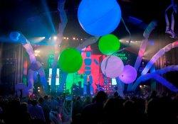 2019 Nova iluminação de Publicidade Inflatables Concertos Zigoto Ball