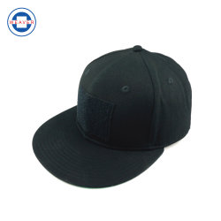 Tela plana de Velcro Hat ao longo da borda do Hip Hop de Cor Personalizado Hat Sports Hat Chapéu
