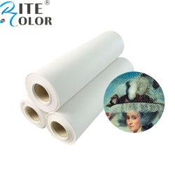 Arte Textil Non-Waterproof estirada brillante lienzo de algodón rollo de tejido de polipropileno