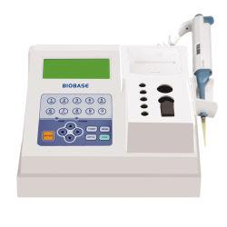 Medische Instrument van de Analysator van de Coagulatie van Biobase Coa01 het semi-Auto (Betsy)