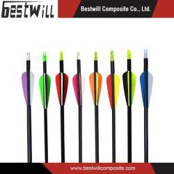 矢シャフトのための多彩なハンチングアーチェリーカーボンファイバーの製品