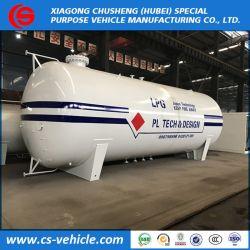 50000L LPG 유조선, LPG 가스 유조선 25 톤 LPG 저장, 대량 LPG 저장 탱크