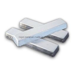 Les lingots de magnésium de haute pureté avec l'avantage de l'enregistrement de ressources énergétiques et de protection environnementale