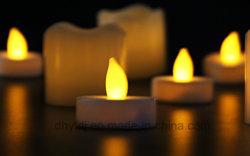Flameless LED 防水の結婚式の装飾党ティーライト
