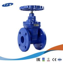 Pn16 WCB 플랜지 주조 철 스테인리스 강 하드 씰 게이트 밸브