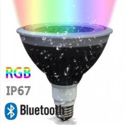 Resistente al agua 20W RGB LED PAR38 Mira el control remoto inalámbrico