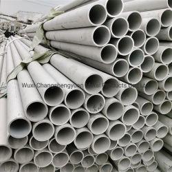 L'AISI 201 304 316 ASTM Inox 430 soudure en acier inoxydable Tubes arrondis coude flexible soudé Ss les matériaux de construction des tubes sans soudure