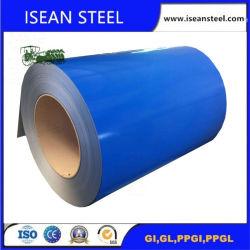 El primer color Ral nuevo Prepainted bobinas de acero galvanizado PPGI