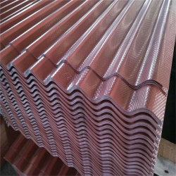 Металлический лист сталь для кровли Plat/0,2-0,8мм с полимерным покрытием гофрированный кровельных панелей