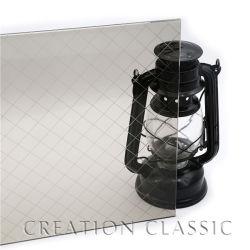 4mm-8mm de profondeur en verre dépoli Acid-Etching décoratifs/ Art Glass