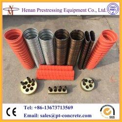 La précontrainte de carton ondulé pour les ponts en béton du conduit d'HDPE
