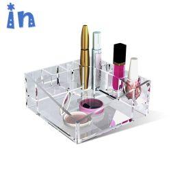 De nieuwe Houder van de Juwelen van de Doos van de Opslag van de Make-up van de Aankomst Duidelijke Acryl