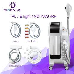 Nouveau Style Elight+IPL+RF+YAG multifonction 4 en 1 Enlèvement de cheveux de la machine