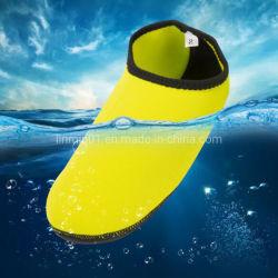 No Verão personalizado dos desportos de praia em neoprene Quick Dry meias