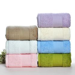 Мягкой хлопковой абсорбирующей Терри роскошь стороны ванной Бич лист полотенце