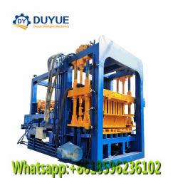 Qt4-20 convoyeur pour machine à briques en Afrique du Sud, le ciment de la brique Machine de moulage par bloc
