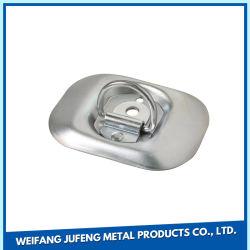 Folha de OEM da placa de zinco Fabricação de estampagem de clipe de metal