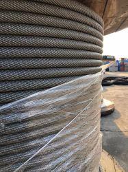 아연 도금/아연 도금 강철 와이어 로프 철 케이블 강철 케이블 1-80mm