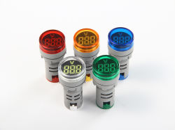 Nв 22мм101-22ad vm раунда большой цифровой трубы LED цифровой дисплей вольтметра переменного тока