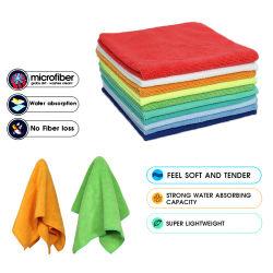 80% Polyester 20% Polyamid Microfaser Handtuch Haushalt Sauberes Tuch Reinigungstuch