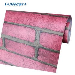 Populäre Tapeten Natur Belüftung-3D für Gaststätte-Backsteinmauer-Papier-dekorative Tapeten