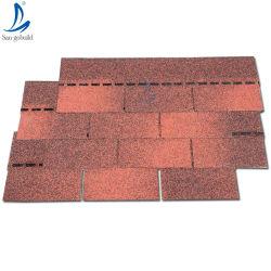 軽い屋根瓦の屋根の物質的で青いアスファルト鉄片、秋のブラウン3タブの屋根ふきのアスファルトは価格ケニヤガーナタイフィリピンベトナムを屋根をふく