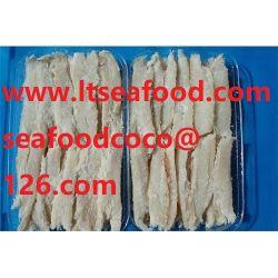 乾燥した塩魚の肉付け