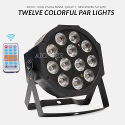 DMX512 원격 제어 동위 빛을%s 가진 12X12W 4in1 LED 동위