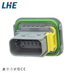 Te 12 Pin 최신 판매 2-1564520-1 방수 잎 유형 남여 연결관