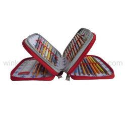 Fantastischer Entwurf 3 Schicht-große Kapazitäts-Bleistift-Kasten
