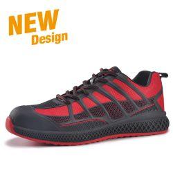 Form Metallfreie Sport Flynitting Sicherheits-Fußbekleidung