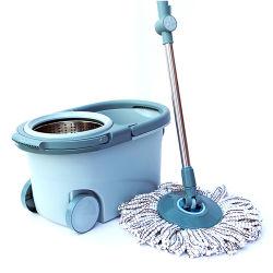Magic 360 MOP de spin de godet avec les roues des articles ménagers Set Outil de nettoyage paresseux Rotation de la RDP