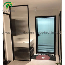 Premium 10мм черный кадр ходьбы в матовое стекло душ экрана