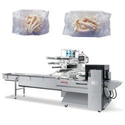 Гриб в лотке/ замороженных или свежих овощей в поддон полностью автоматическая Горизонтальные упаковочные машины упаковки механизма