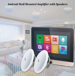 """Amplificateur de paroi Bluetooth Android WiFi amplificateurs Home Cinema avec 5/6"""" dans le haut-parleurs de plafond Mini AMP Amplificador Audio de la musique de fond joueur hôte"""