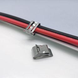 الجملة SUS 304 Steلس ستيل Solar Panel Cable Clip لمدة وحدة تحميل PV