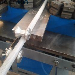 PE de aguas residuales domésticas Flexible Una sola pared de tubo corrugado Línea de producción SJ50 SJ55 único tornillo de extrusión de 32mm, 40mm, tubos de 50mm