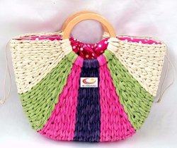 حقيبة توت سترو بتصميم جديد مع لون قوس قزح