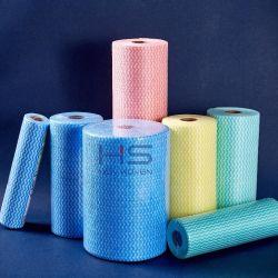 Não Tecidos toalhetes de limpeza Eco-Friendly agregado panos de limpeza