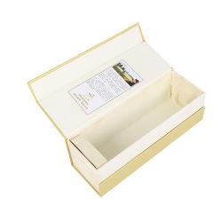 Singolo imballaggio magnetico del contenitore di vino di vetro di vino del documento di carta di lusso del cartone