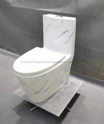 Usine Afrique salle de bains céramique une pièce sanitaires Ware toilettes