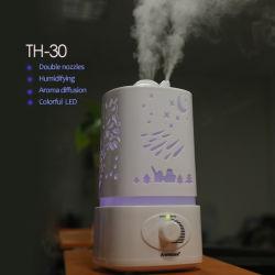 Aromacare Double Nozzle Big Capacity 1.7L Anion Humidifier (TH-30)
