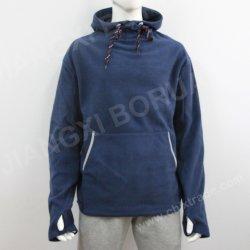 بيع بالجملة ملابس بالجملة ملابس رخيصة أزياء سترة مخصصة شعار طباعة سترة ذات هوودي للرجال 100%بوليستر بولار Fleece سويتر