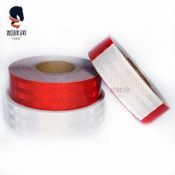 3mの等量のConspicuityの赤くか白いダイヤモンドの等級の反射テープ