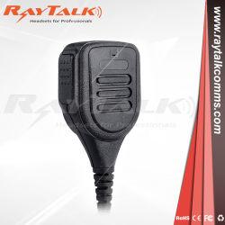 Haut-parleur radio microphone avec bouton d'urgence pour Vertex Yaesu Radio